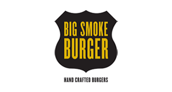 Big Smoke Burger logo; social media marketing