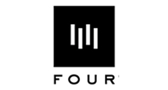 Four logo; Social media marketing